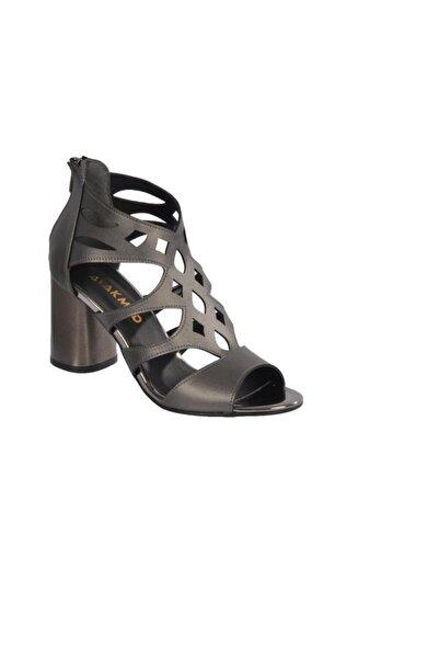 Maje Kadın Platin Topuklu Ayakkabı 9837