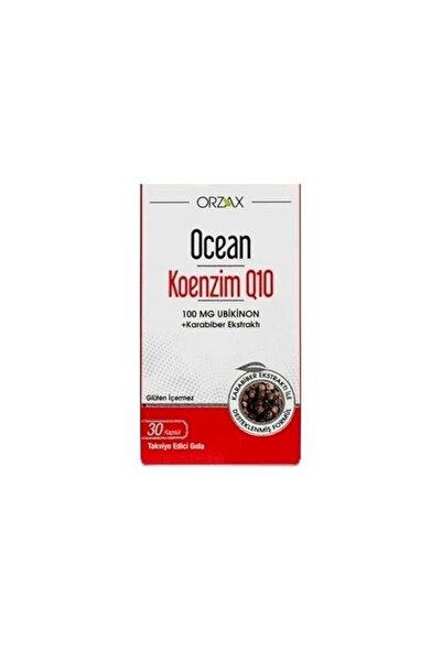 Ocean Koenzim Q10 100 mg Ubikinon 30 Kapsül SKT:11/2022