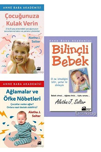 Karakarga Yayınları Çocuğunuza Kulak Verin-ağlamalar Ve Öfke Nöbetleri-bilinçli Bebek-aletha J. Solter 3 Kitap Set