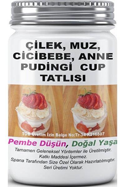 SPANA Çilek, Muz, Cicibebe, Anne Pudingi Cup Tatlısı 330gr