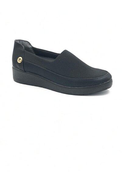 Pierre Cardin Kadın Günlük Siyah Spor Anne Ayakkabısı 51234