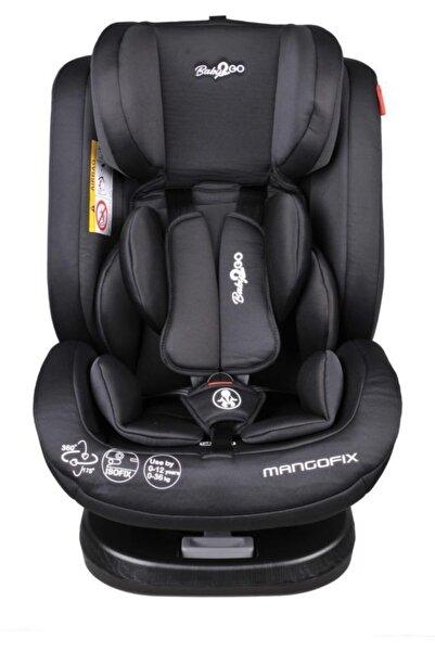 Baby2Go Mangofix 360 Derece Dönebilen Yatabilen Isofixli 0-36 Kg Çocuk Oto Koltuğu - Denim Black