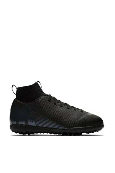 Nike Unisex Çocuk Siyah Jr Mercurial Superfly Vi Tf  Halı Saha Ayakkabısı