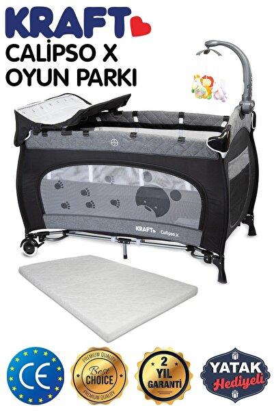 Kraft Calipso X Dönenceli Oyun Parkı Siyah