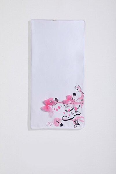 Wogi Kız Bebek Flamingo Baskılı Tül Detay Battaniye Pb21s502-5815b