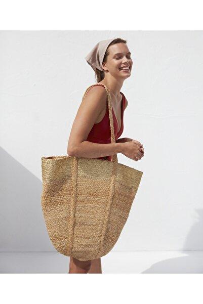 İpekyol Dev Hasır Çanta