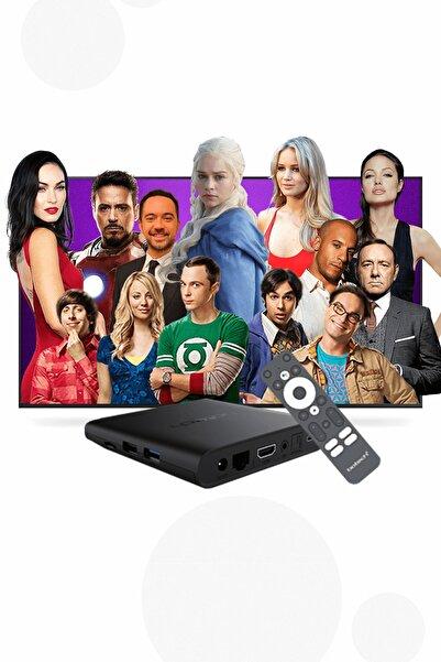 Botech Wzone 4k Ultra Hd Android Tv Box - 12 Aylık Beın Connect Eğlence Paketi
