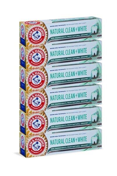 Arm&Hammer – Natural Clean & White 75 ml x6