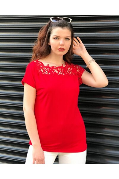 TREND Kadın Kırmızı Bluz
