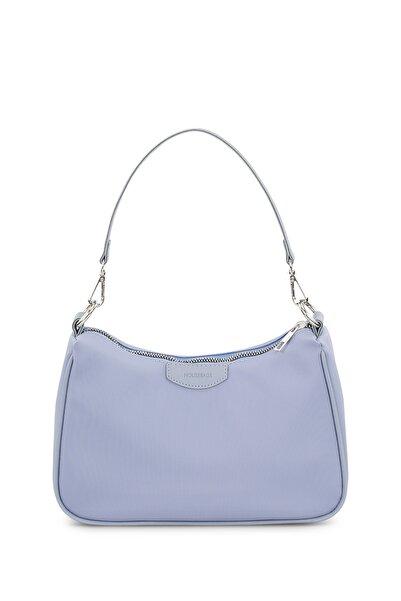 Housebags Kadın Bebe Mavi Baguette Çanta 206