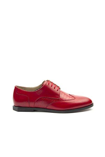 TOGO Bağcıklı Klasik Kadın Ayakkabı