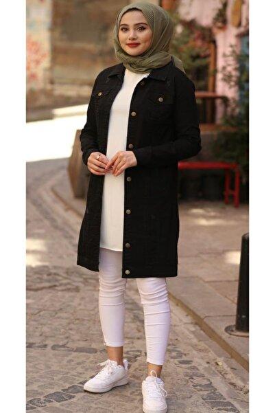 esmaboutique Kadın Kısa Kot Ceket