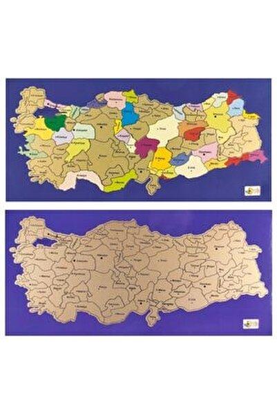 Kazınabilir Kazımalı Gez Kazı Magnetli Mini Boy Türkiye Haritası