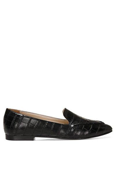 Nine West SIMPA 1FX Siyah Kadın Loafer Ayakkabı 101011722