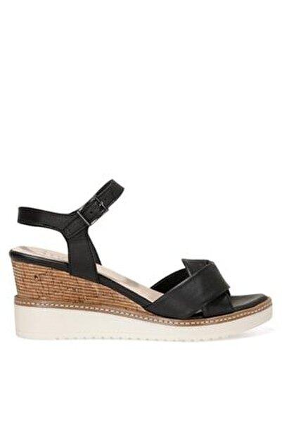 TERI.Z 1FX Siyah Kadın Dolgu Topuklu Sandalet 101033769