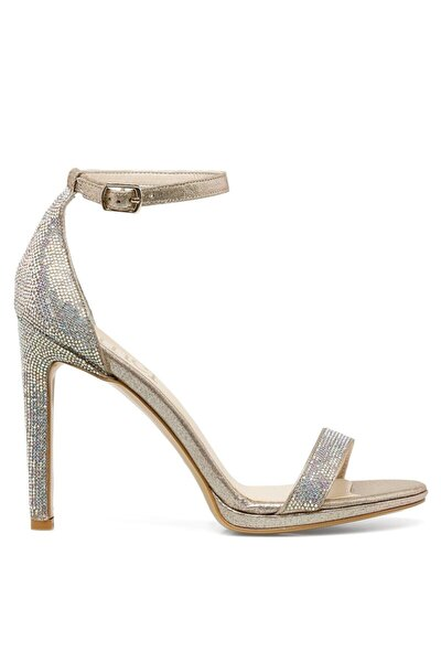 İnci PARLE.Z 1FX Altın Kadın Topuklu Sandalet 101038356