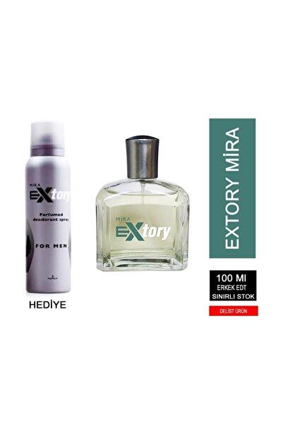Extory Mira 100 ml Edt + 150 ml Deodorant Erkek Parfüm
