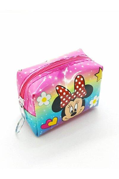 Minnie Mouse Mıckey Mouse Süslü Çocuk Cüzdanı