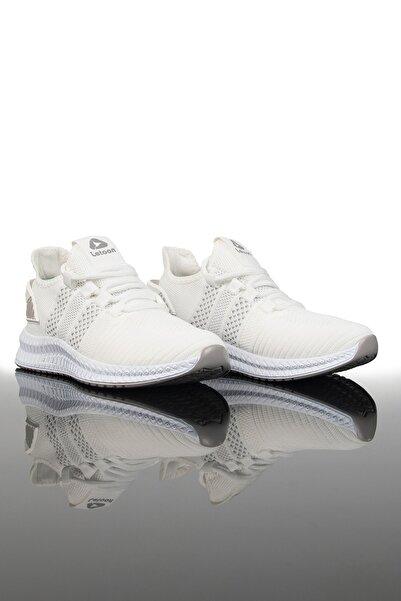 LETOON Unisex Beyaz Gri Spor Ayakkabı 2103