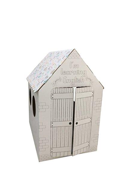 Prigo Dijital Çözüm Merkezi Prigo Hayvan Figürlü Karton Boyama Evi
