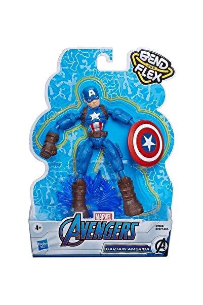 AVENGERS Marvel Avengers Avengers Bend & Flex Captain America Figür