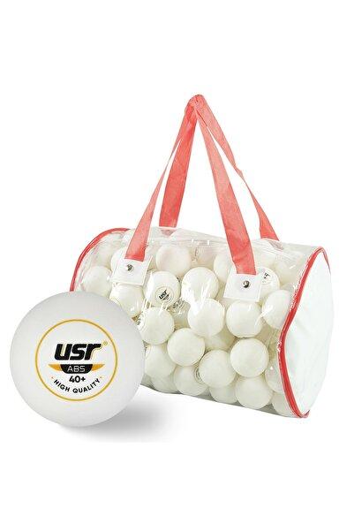 USR Starter 100 lü Masa Tenisi Antrenman Topu Beyaz