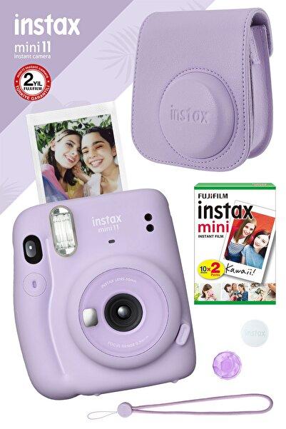 Fujifilm Instax Mini 11 Lila Fotoğraf Makinesi Ve Hediye Seti 4