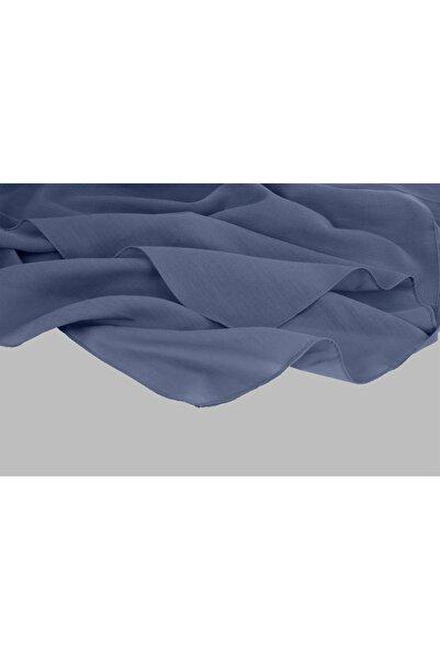 ARMANDA %100 Pamuk Şal - Kot Mavisi Renk