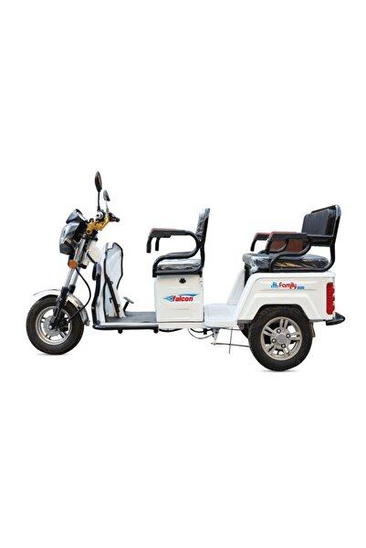 Falcon Elektrikli Motosiklet Family 8000 Beyaz