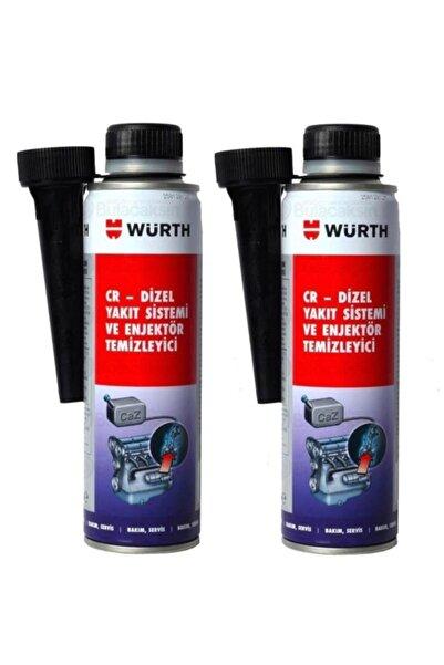 Würth Enjektör Temizleyici Dizel Performans Iyileştirici 300ml X 2 Adet