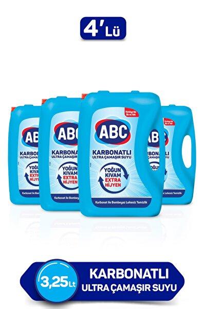 ABC Karbonatlı Ultra Çamaşır Suyu 3,25l 4'lü Paket