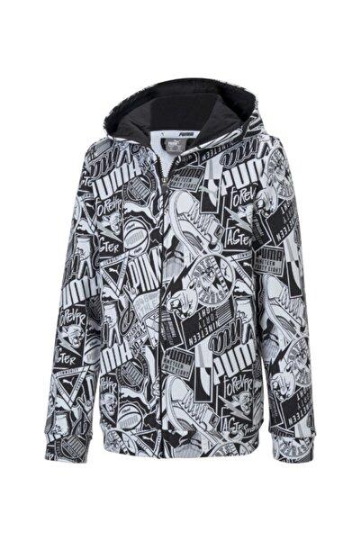 Puma Erkek Çocuk Siyah Alpha Hooded Jacket 58127501