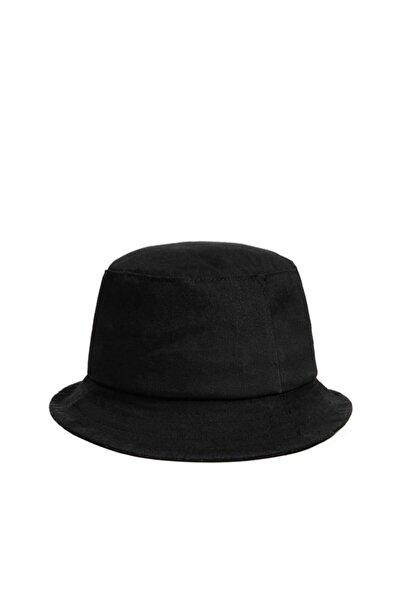 Güce Unisex Siyah Balıkçı Bucket Şapka Gc013900