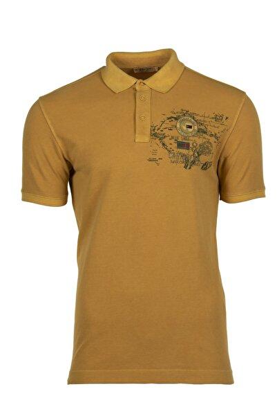 Arma Erkek Altın Rengi Polo Yaka T-shirt