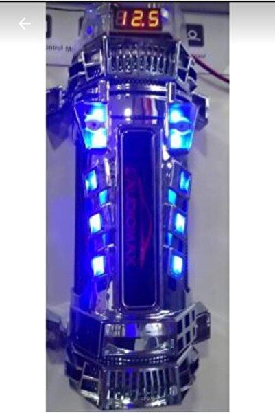 AUDİOMAX Mx 108 Power Capasıtor, 8 Farad Led Ekranlı Remoteli Power Kapasitör