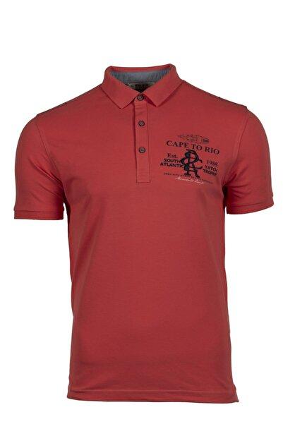 Arma Erkek Mavi Polo Yaka T-shirt 7961