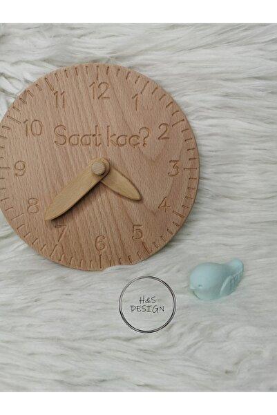 H&S Design Saati Öğreniyorum Ahşap