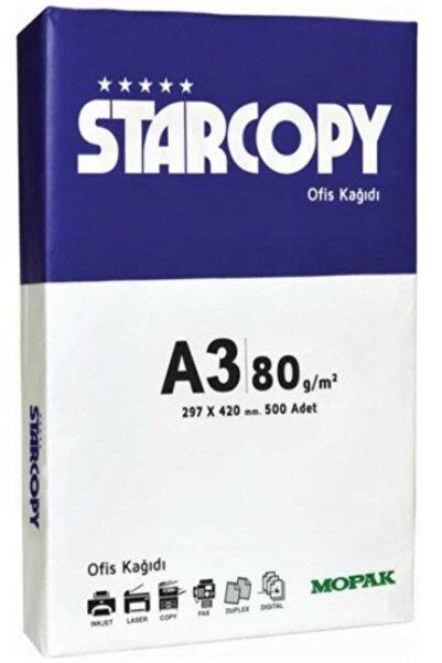 Mopak Starcopy A3 Fotokopi Kağıdı 80 Gr 1 Paket 500 Adet