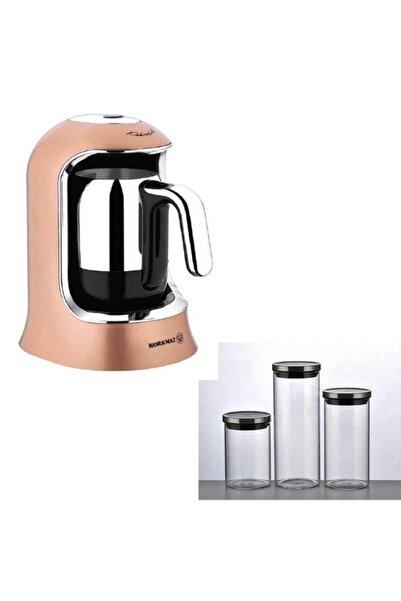 KORKMAZ Kahvekolik Rosagold Otomatik Kahve Makinesi A860-06