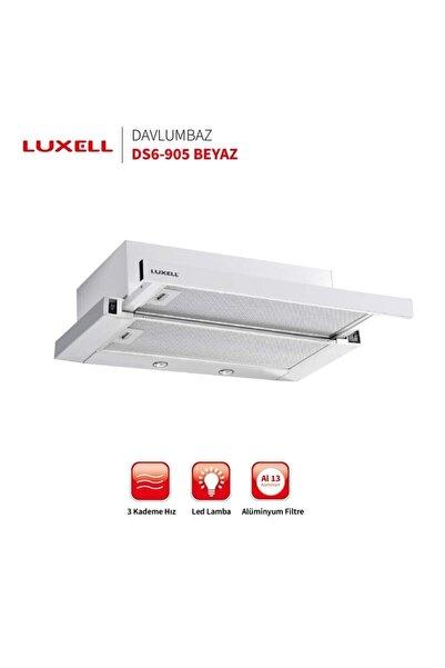 Luxell Sürgülü Aspiratör Beyaz Renk Ds-6 905