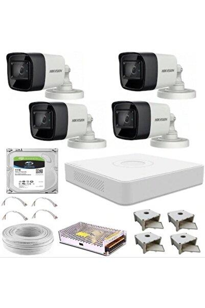 Haikon Hıkvısıon Güvenlik Kamera Sistemi 4 Kameralı
