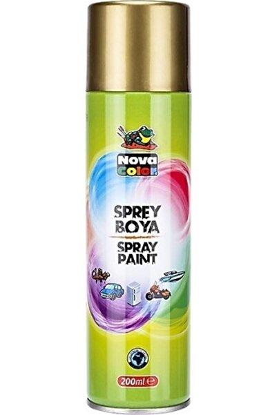 Nova Color Altın Sprey Boya 200 ml ( 1 Adet )
