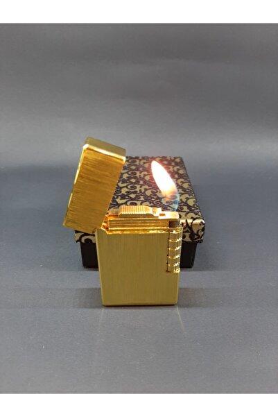 Hunter Altın Rengi Dupont Modeli Çakmak