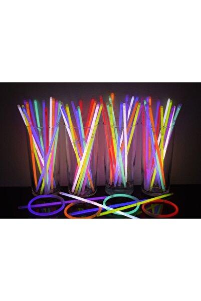 ERPA ToysShop Glow Stick Fosforlu Neon Bileklik 50 Adet