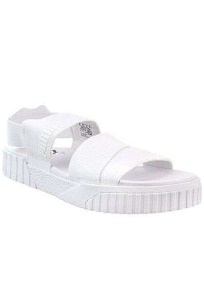 Puma Kadin Beyaz Sandalet