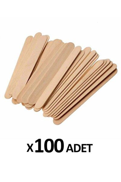 Roesıa Rose Cosmetics 100 Adet Ahşap Spatula (ağda Kaşığı)