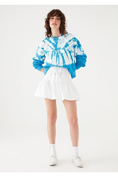 Mavi Kadın terranean Beyaz Balon Etek 131079-620