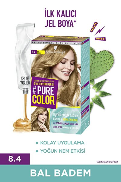 PURE COLOR 8-4 Bal Badem