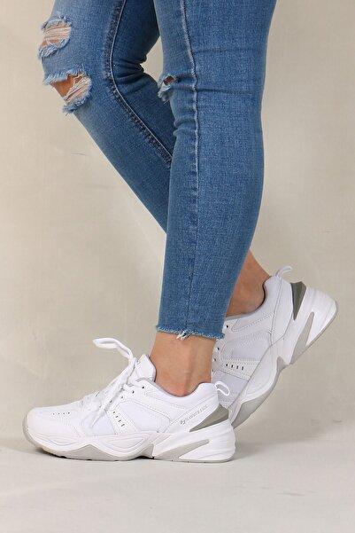 Hammer Jack Kadın Beyaz Bağcıklı Ayakkabı 101 21295-z
