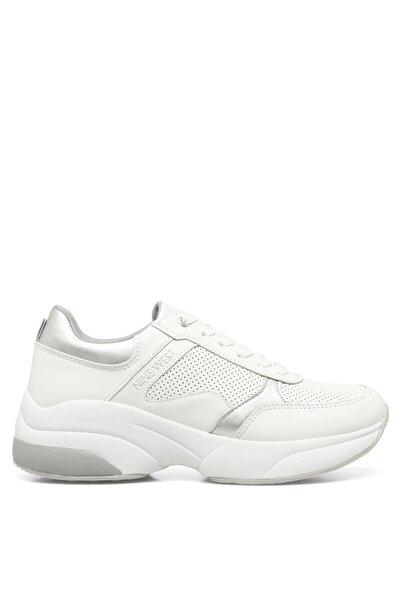 Nine West PATRICIA 1FX Beyaz Kadın Sneaker Ayakkabı 101029591